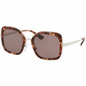 Prada Oversize Style Sunglasses W/Purple Lens